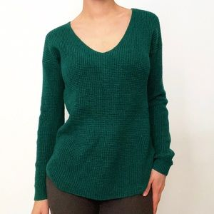 Long Wilfred Free Wool Soft V-Neck